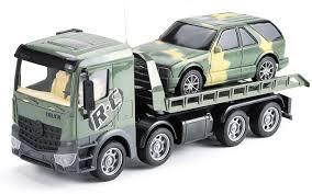 <b>Радиоуправляемый</b> грузовик-трейлер + джип CityTruck 1:24 - 553 ...