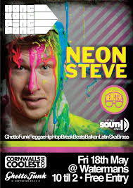 Hong Kong Ping Pong presents Neon Steve Fri 18th May - HKPP-18th-May-Poster