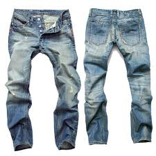 Gersri <b>Hot Sale</b> Casual <b>Men</b> Jeans Straight Slim <b>Cotton</b> – YessBoss ...