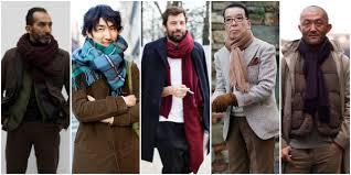 Как это носить: 5 мужских образов с объемным <b>шарфом</b> из ...