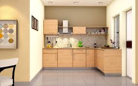 modular kitchen colors:  kitchen inspiring modular design ideas with l shape brown color along cabinets and wall picture modern