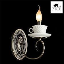 <b>Бра Arte Lamp</b> Teapot <b>A6380AP</b>-<b>1AB</b> - Оригинал 100%. Купить в ...