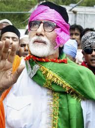 Amitabh Bachchan visit Ajmer Sharif - amitabh-bachchan-in-ajmer-sharif