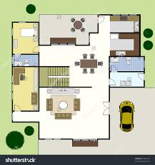 Ground Floor Plan Floorplan House Home Building Architecture    Save to a lightbox