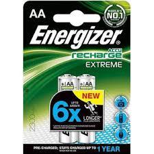 <b>Аккумулятор ENERGIZER</b> Extreme <b>NH15</b>/<b>AA</b> 2300 BP2 Pre-Ch (2 ...