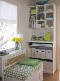 interior charming white green small home office interior png charming office craft home wall storage