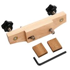 1Set Solid Maple Stainless Steel <b>Guitar</b> Bridge Install <b>Clamp Luthier</b> ...