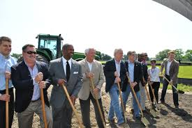 in gonzales ground is broken on acre conway mixed use in gonzales officials and developers break ground on the conway planned community photo