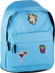 <b>Школьный рюкзак Спейс</b> ArtSpace Pattern, Sch_18084, бирюзовый