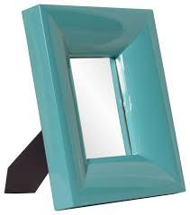tabletop mirror home accents decor modern howard elliott candy teal table top mirror home accent decor co