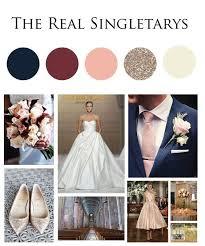 Image result for <b>navy</b> pale <b>pink burgundy</b> in <b>2019</b> | Gold wedding ...