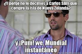 Y porq  no le decimos a Carlos Slim que compre la isla de Nueva ... via Relatably.com