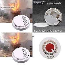 Fuers Wireless <b>Smoke</b> Detector <b>Independent</b> Anti-Fire <b>Smoke</b> ...