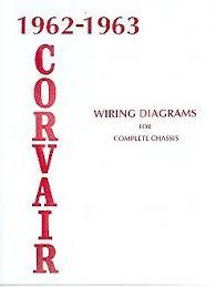 1962 1963 corvair 500 700 900 wiring diagram manual