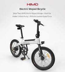 [EU STOCK] <b>HIMO C20</b> Electric Bicycle 250W Motor ebike 25km/h e ...