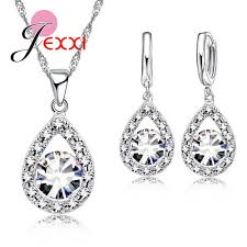 Marvelous Pure Freshwater Pearl Necklace Earrings Jewelry Sets ...