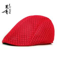 Clothing, Shoes & Accessories <b>Summer Men's</b> Beret <b>Breathable</b> ...