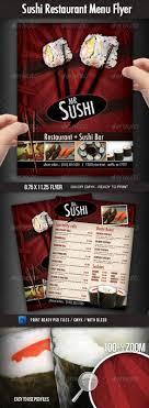 room manchester menu design mdog: sushi restaurant menu flyer  sushi restaurant menu flyer