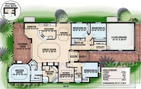 Front or Side Entry Garage   GW   st Floor Master Suite  CAD    Floor Plan