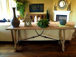 prepossessing table behind couch sofa brilliant decorating mirrored furniture target