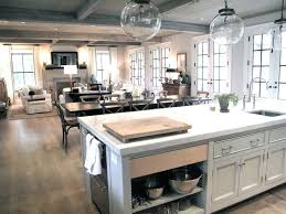 open kitchen design farmhouse:  ideas about kitchen living rooms on pinterest kitchen living open floor plans and kitchen room design