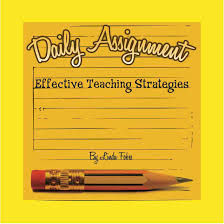 daily assignment this will be my last blog for this school year i will begin again in in the meantime take a look at my book on amazon com for more effective
