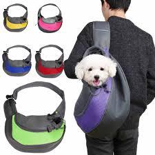 <b>Pet Puppy Carrier Outdoor</b> Travel Handbag Pouch Mesh Oxford ...