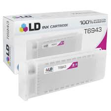 <b>Epson T6943 Magenta</b> Ink Cartridge - 4inkjets