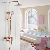 creative chrome waterfall tub sink faucet floor mount free standing bathtub mixer taps single lever with handheld shower