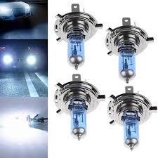 <b>2Pcs H1</b>/<b>H4</b>/H7 55W/100W Xenon Gas Halogen Headlight White ...