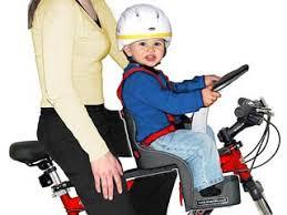 Как выбрать <b>детское кресло</b> для велосипеда | Сайт Котовского