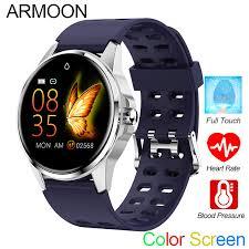 <b>Smart Watch</b> R23 Touch Waterproof Bracelet Heart Rate Blood ...