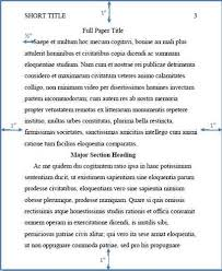 apa style essays are divided into the following sections apa style of essay need to write an apa college essay in apa style