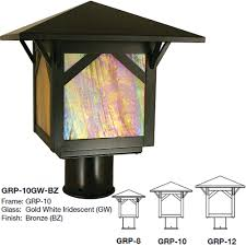 arroyo craftsman grp greenwood mission exterior lamp post light loading zoom arroyo craftsman lighting