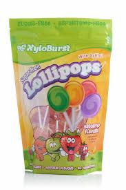Xyloburst <b>Sugar Free Lollipops with Xylitol</b> - 50 Lollipops | Store ...