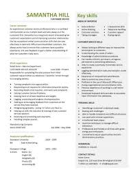 customer service resume templates  skills  customer services cv    professionally designed customer service resume templates