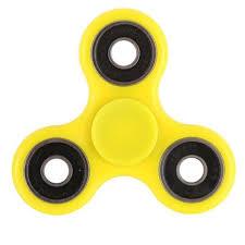 spinner желтый