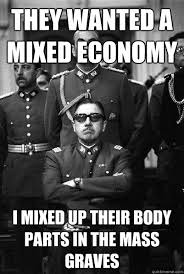 They wanted a mixed economy I mixed up their body parts in the ... via Relatably.com
