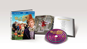 willy wonka the chocolate factory blu ray review films at home warner brothers has a nice history of releases limited edition box sets of classic films like jfk gone the wind and the wizard of oz and they have