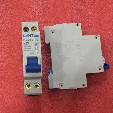 New <b>CHINT Miniature circuit breaker</b> DZ267-32 1P+N C16 16A ...