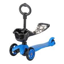 Кикборд <b>Moby kids</b> 64966, синий — купить в интернет-магазине ...