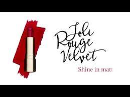 <b>Clarins Joli Rouge Velvet</b> – Shine in matte. - YouTube