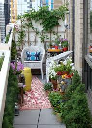 outdoor furniture balcony with flower decor balcony outdoor furniture