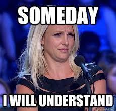 Doubtful Britney memes | quickmeme via Relatably.com