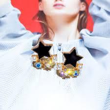 <b>Silver Needle</b> Oil Earrings Earrings | Simple earrings, Fashion ...