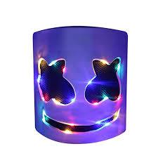 DJ LED Mask - Music Festival Party Light Up Mask ... - Amazon.com