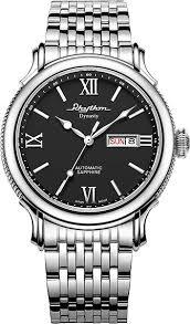 Купить <b>Мужские</b> японские механические наручные <b>часы Rhythm</b> ...