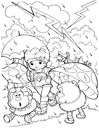 Small Picture rainbow brite 25 coloring pages Pinterest