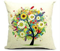 decor linen fabric multiuse: beautiful nature inspired summer colour cushion cover new pillow case made with soft cotton linen