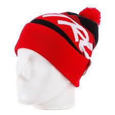 <b>Шапка</b> с помпоном <b>True Spin Jacquard</b> Styles Red/Black - купить в ...